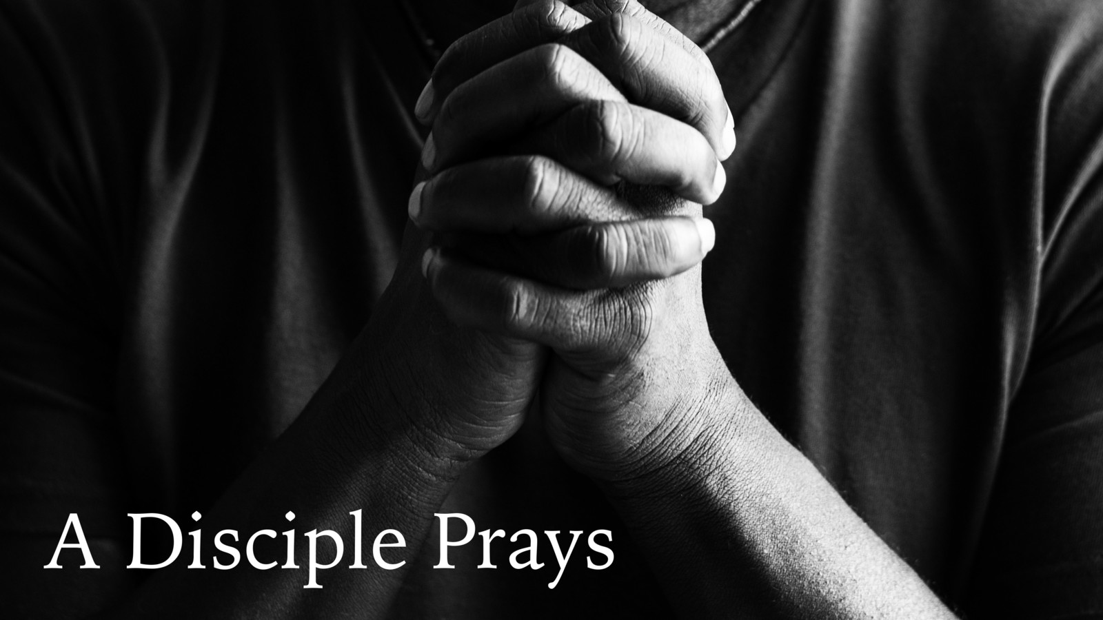 A Disciple Prayers Screen 1