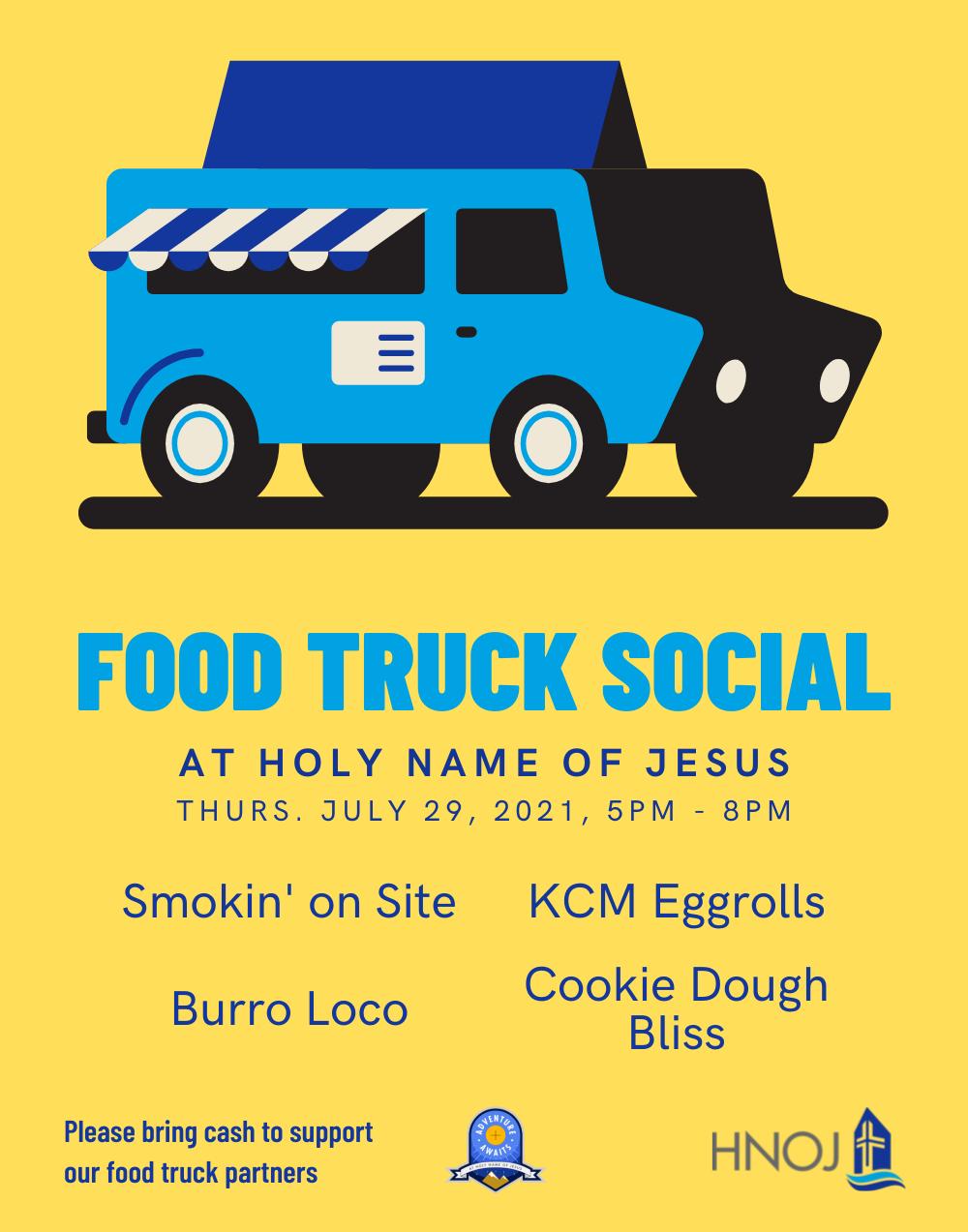 Food Truck Poster   Website