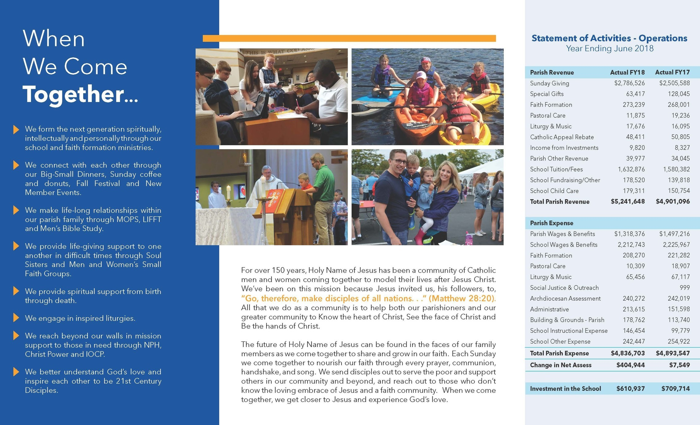 Stewardship Brochure Inside Pages