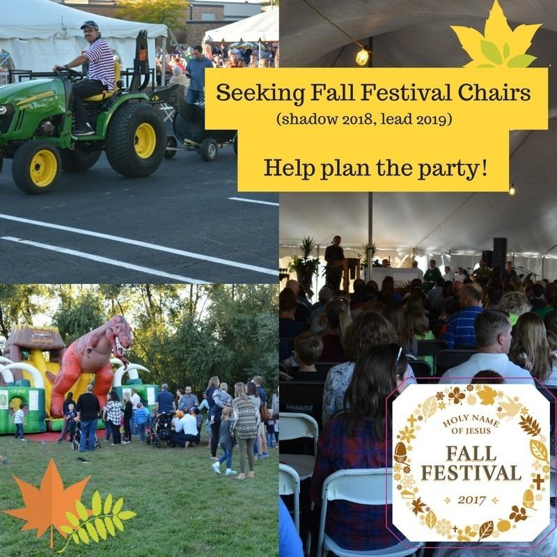 Seeking Fall Festival Chair