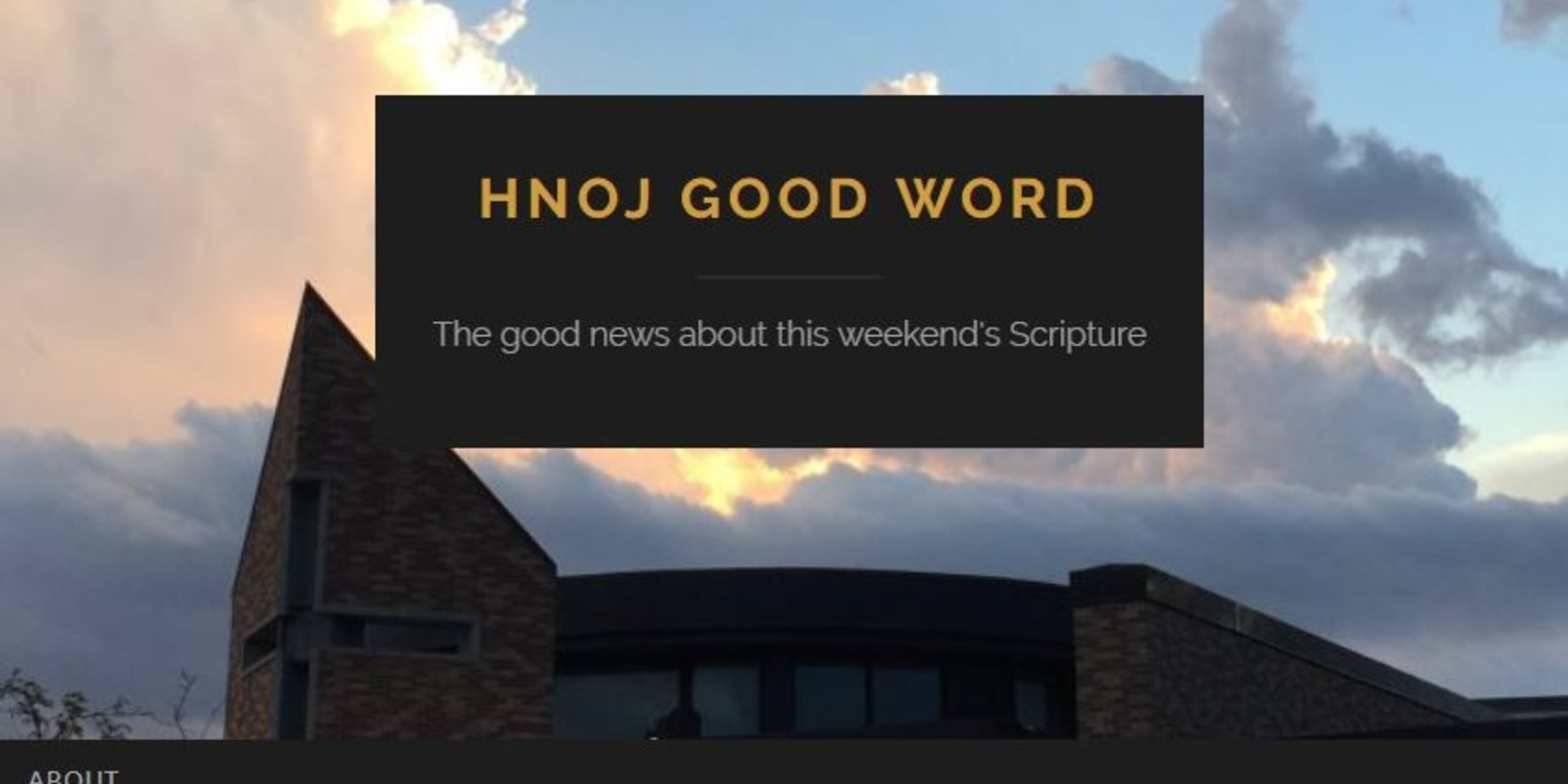 HNOJ Good Word
